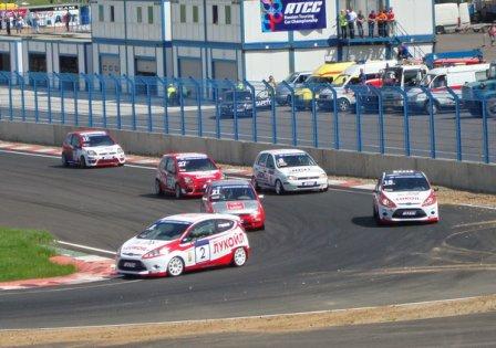 Старт гонки группы «Объединенный-1600» RTCC в Смоленске 2011