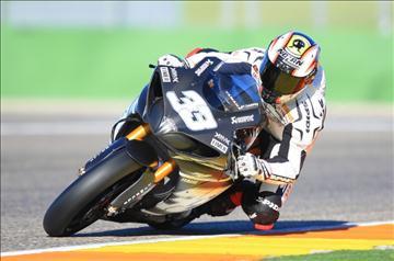 Марко Меландри, тесты Yamaha в Валенсии