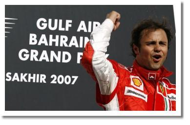 Фелипе Масса, победитель ГП Бахрейна