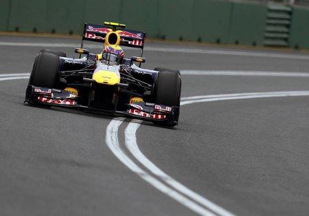 Марк Уэббер, квалификация на Гран При Австралии 2011