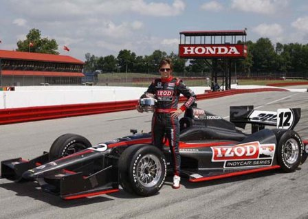 Дэн Уэлдон, испытания шасси Dallara в Мид-Огайо 2011