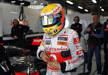 Льюис Хэмилтон, квалификации на Гран При Австралии 2011