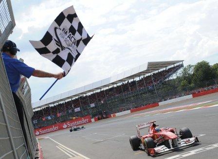 Фернандо Алонсо, гонка, Гран-при Великобритании 2011