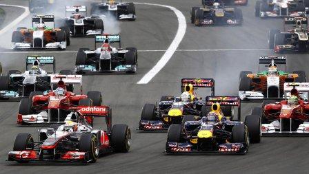 Старт Гран-при Германии 2011