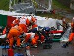 Авария Жюля Бьянки на Гран При Японии 2014
