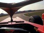 Вид из кокпита Ferrari с защитными элементами