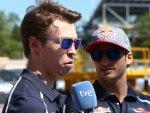 Даниил Квят и Карлос Сайнц младший на Гран При Испании 2016