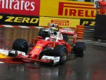 Кими Райкконен в гонке на Гран При Монако 2016