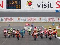 Старт гонки в Мотеги MotoGP 2011