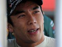Такума Сато, портрет на этапе в Мид-Огайо серии IndyCar 2011