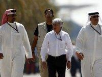 Берни Экклстоун на Гран При Бахрейна 2010