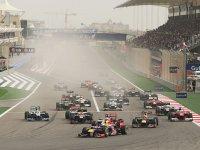 Старт гонки в Бахрейне 2012