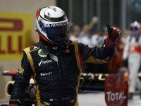 Кими Райкконен, победа на Гран При Абу-Даби 2012