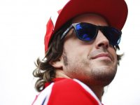 Фернандо Алонсо, портрет на Гран При Бразилии 2011