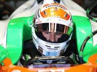 Адриан Сутил, пятничные тренировки на Гран При Италии 2011