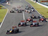 Старт Гран При Японии 2011