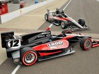 Макеты болидов Dallara 2012 для IndyCar
