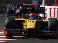 Роман Грожан в гонке на Гран При Монако серии GP2 2011