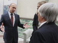 Путин и Экклстоун
