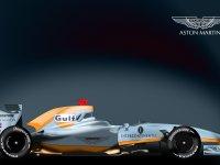 Изображение прототипа автомобиля Gulf Aston Martin F1