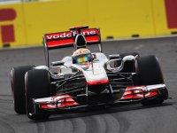 Льюис Хэмилтон в квалификации на Гран При Кореи 2011