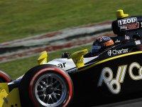 Джей Ар Хильдебранд, гонка в Мид-Огайо IndyCar 2010
