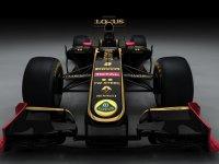 Черно-золотой болид Lotus Renault 2011