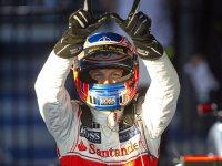 Дженсон Баттон - победитель Гран При Австралии 2012