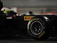 Педо де ля Роса, тесты шин Pirelli в Абу-Даби
