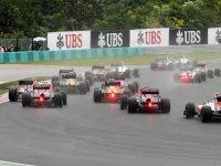 Старт Гран При Венгрии 2011