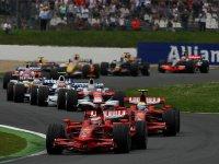 Старт Гран При Франции 2008