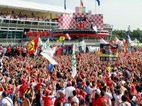 Награждение на Гран При Италии