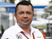 Эрик Булье, спортивный директор McLaren