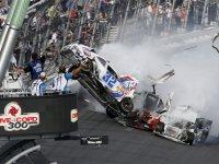 Авария на гонке серии NASCAR Nationwide в Дайтоне 2013
