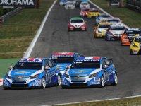 Лидерство Chevrolet на этапе в Монце WTCC 2011