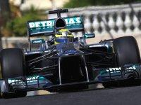 Нико Росберг в гонке на Гран При Монако 2013