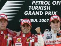 Подиум ГП Турции 2007