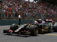 Роман Грожан перед гонкой на Гран При Бразилии 2015