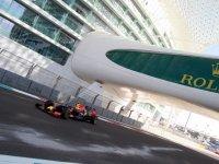 Даниил Квят, первая часть свободных заездов на Гран При Абу-Даби