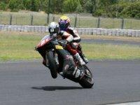 Трой Бейлисс и Марк Уэббер на мотоцикле Ducati
