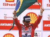 Айртон Сенна - победитель Гран При Бразилии 1991