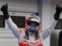 Дженсон Баттон - победитель Гран При Венгрии 2011