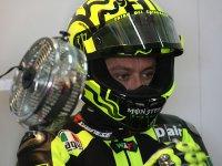 Валентино Росси на тестах Ducati в Валенсии 9-го ноября 2010