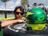 Бруно Жункейра, гонка Nikon Indy 300 2008