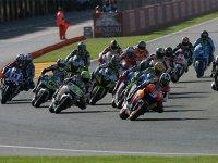 MotoGP, старт ГП Валенсии 2009