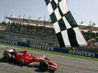 Михаэль Шумахер на Гран При Сан-Марино 2006
