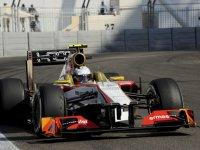 Ма Цин Хуа, пятничные тренировки на Гран При Абу-Даби 2012