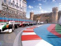 Визуализация гонки Формулы 1 в Баку