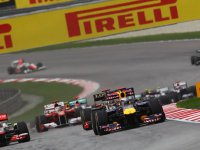 Старт Гран При Малайзии 2011