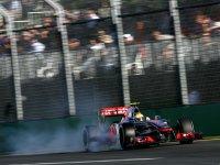 Льюис Хэмилтон в квалификации на Гран При Австралии 2012